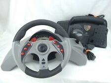 MadCatz #8020 MC2 PlayStation & PS2 Racing Wheel & Foot Pedals - Tested/Working