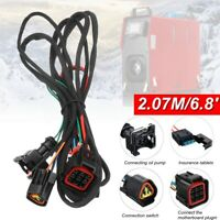 HCalory All in One diesel Air Heater Wiring Loom Power Supply Cable   Gift