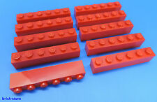 LEGO®  Nr- 300921 / 1x6 Grundbaustein rot / 10 Stück