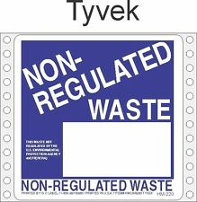 Non-Regulated Waste Tyvek Labels HWL260T (PACK OF 500)