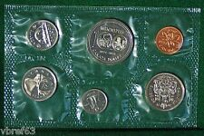 1974 Canada Prooflike PL set - 6 perfect coins in org packaging and certificate