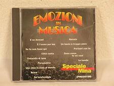EMOZIONI IN MUSICA speciale MINA cd usato (F106)