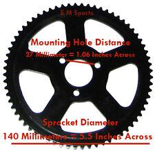 Mini Pocket Bike Parts 47cc 49cc Rear Sprocket 68 Tooth Cags A1 A2 MX3 Parts