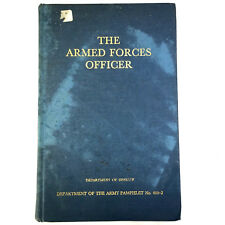 The Armed Forces Officer Department of Defense No 600-2 1956