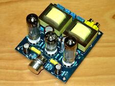 Amplificatore HI-FI stereo valvolare 3,5+3,5 W con tubi 6P14 (EL84) e 6N2(12AX7)
