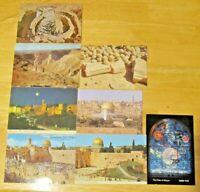 8 Israel Postcards