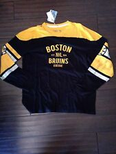 Boston Bruins Men's L/S Crew XLarge Vintage Shirt Classic Wash . NHL Hockey NEW
