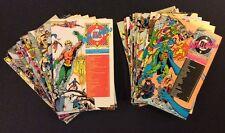 WHO'S WHO THE DEFINITIVE DIRECTORY DC UNIVERSE #1-26 Comic Books Superhero Bios
