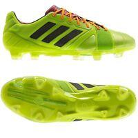 Adidas Nitrocharge 1.0 TRX FG Lime Green Performance Mens Football Soccer Boots