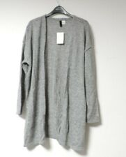 H&M Fine-knit cardigan Grey Size EUR L UK 16 rrp £17 NH192 BB 06