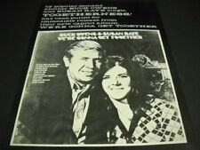 Buck Owens and Susan Raye by popular demand Togetherness 1970 Promo Poster Ad