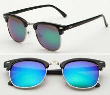 Men UV400 Polarized Sunglasses Women Retro Round Outdoor Driving Fashion Eyewear