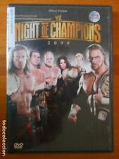 DVD NIGHT OF THE CHAMPIONS 2008 - WRESTLING (F3)