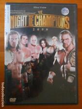 DVD NIGHT OF THE CHAMPIONS 2008 - WRESTLING (F3)