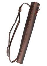 Rückenköcher mittelalterlicher Lederköcher traditioneller Köcher Bogenköcher