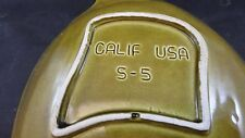 Vintage California Pottery Cheese Dip Serving dish with recipe
