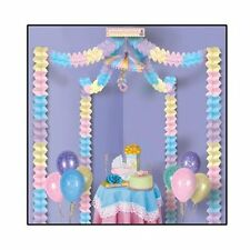 Decorating Kit for baby Shower  - Pink, Blue, Yellow & Lavender -For Girl or Boy