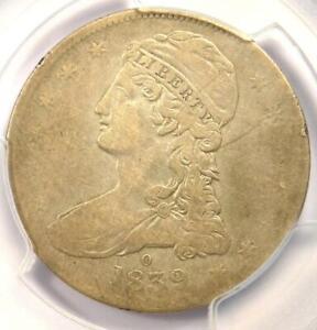 "1839-O Capped Bust Half Dollar 50C - PCGS Fine Details - Rare ""O"" Mint Coin!"