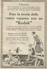 W5727 Fate la storia delle vs vacanze con Kodak - Pubblicità 1926 - Advertising