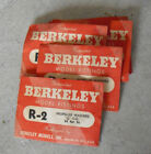"Lot of 5 Packs Vintage RC Parts Berkeley R-2 Propeller Washers 1/4"" OD"