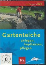 Gartenteiche - Anlegen, bepflanzen, pflegen - DVD - NEU & OVP - blv Gartenpraxis