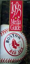 1993 Boston Red Sox Media Guide