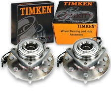 Timken Front Wheel Bearing & Hub Assembly for 2011-2016 Ford F-250 Super aa