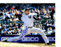 Dellin Betances autographed signed MLB New York Yankees 8x10 Steiner