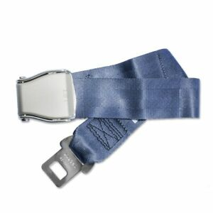 Airplane Seat Belt Extender - Type A Universal Extension - FAA Compliant (Blue)