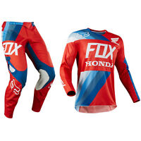 FOX RACING 360 MOTOCROSS MX KIT PANTS JERSEY - 2018 HONDA RED