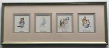 Beatrix Potter Frederick Warne Framed Print Series 509 (1993)