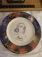 """Syracuse China Company The New Millennium 12"""" Collector Plate 2000 Kurts Duluth"""