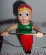 "Vintage ""Arty the Trapeze Artist"" KIKAITAISO~Wind-up~Celluloid~Toy"