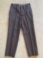 VTG Gray sharkskin Pants Slacks Rare 50's 60's Mid Century Mod Cool