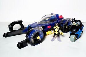 Imaginext DC Super Friends Transforming Batmobile w/ Batcycle Figures