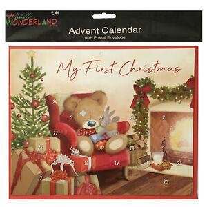 My First Christmas Advent Calendar 250mm x 200mm