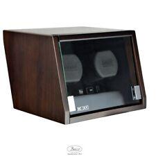 Remontoir montres BOXY CASTLE 2 NOYER LED