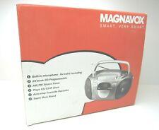 MAGNAVOX CD Boom Box MCS225 Tuner CD CD-R Player Cassette Recorder Portable NIB