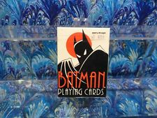 BATMAN THE ANIMATED SERIES PLAYING CARDS 1992 RARE COLLECTIBLE hologram sealed