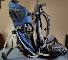 Deuter Kid Comfort II Child Hiking Backpack Carrier - Gray/Blue