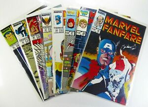 MARVEL FANFARE (1985) #18 26 27 32 33 40 42 43 Lot VF to NM Ships FREE!