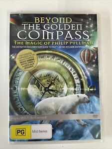 BEYOND THE GOLDEN COMPASS: THE MAGIC OF PHILIP PULLMAN (DVD) R-4, NEW Free Post