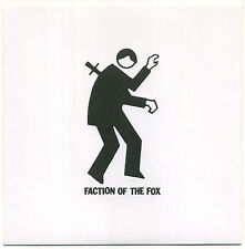 """FACTION OF THE FOX - Mannequin Hand 7"""" Vinyl Record, Chicago, Quincy Shanks"""