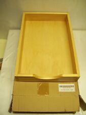 Legal Desk Tray, Wood, Lightweight, Light Oak Finish