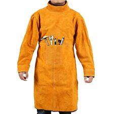 Welding Jacket Xl/Leather Apron/Heat &amp Flame-Resistant Heavy-Duty Work Coat