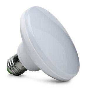 E27 15W 30LED 5730SMD Super Bright UFO Light Bulb White Light DC12V
