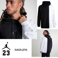 SZ XL 🆕🔥 Nike Air Jordan Fly 11 Concord Legacy Men's 72-10 Hoodie Black/White