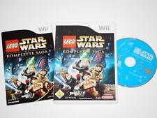 Nintendo Wii Spiel Lego Star Wars Die Komplette Saga ~5287