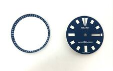 New Aftermarket Seiko dial & chapter ring - Blue dial - will fit 6309