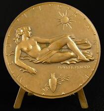 Médaille La Méditerranée 1976 Exposition Nice Tokyo Japon Japan Mitsukoshi medal